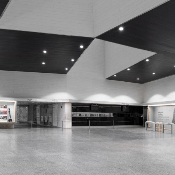 fotografia de arquitectura hall musac leon