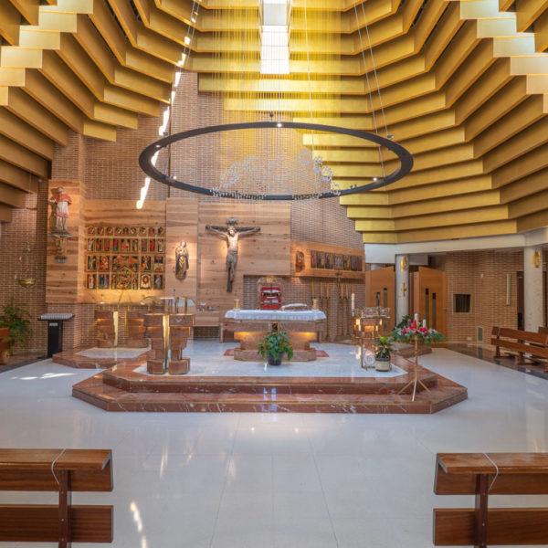 interior Iglesia San Ramon Nonato