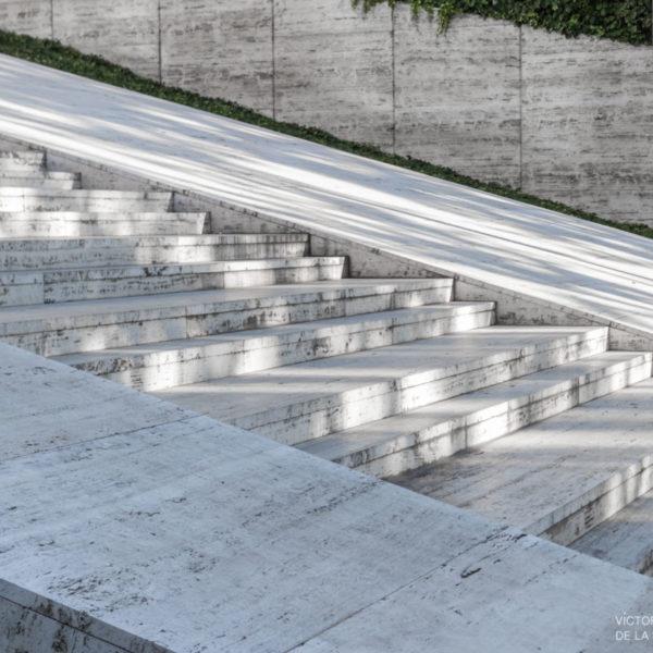 fotografia de arquitectura escaleras de hormigon