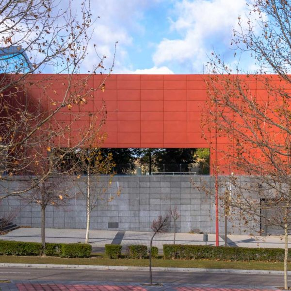 fachada lateral edificio
