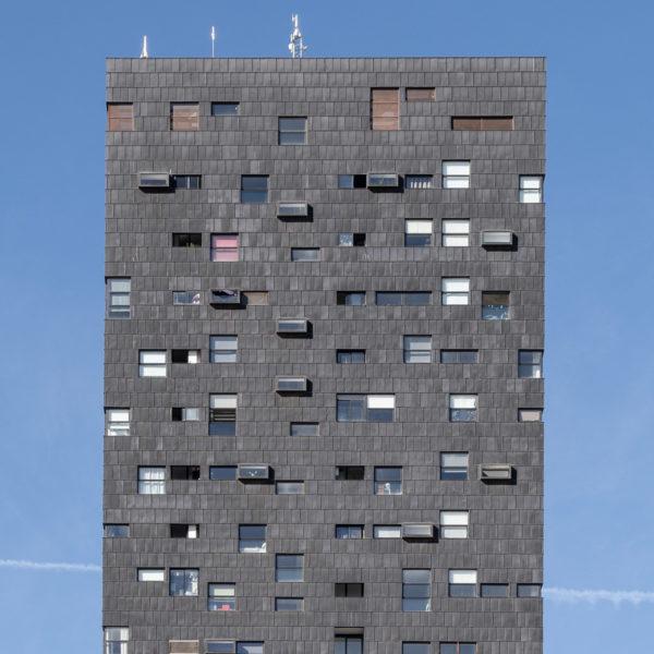detalle ventanas de edificio