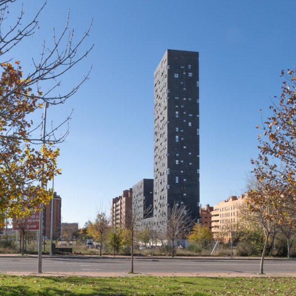 vista alejada de edificio