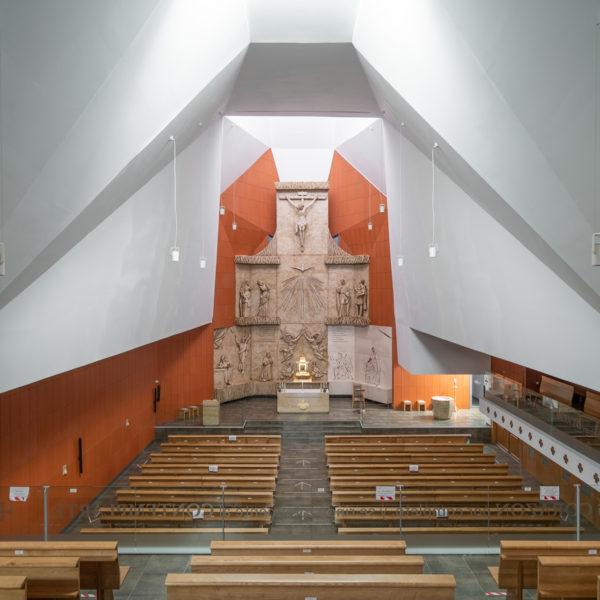 iglesia vista interior