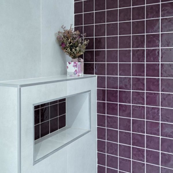 fotografia de interiorismo azulejos baño