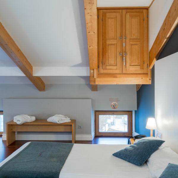 detalle cama hotel