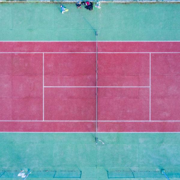 fotografia deportiva drone