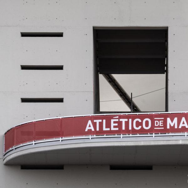 detalle hormigon fachada estadio