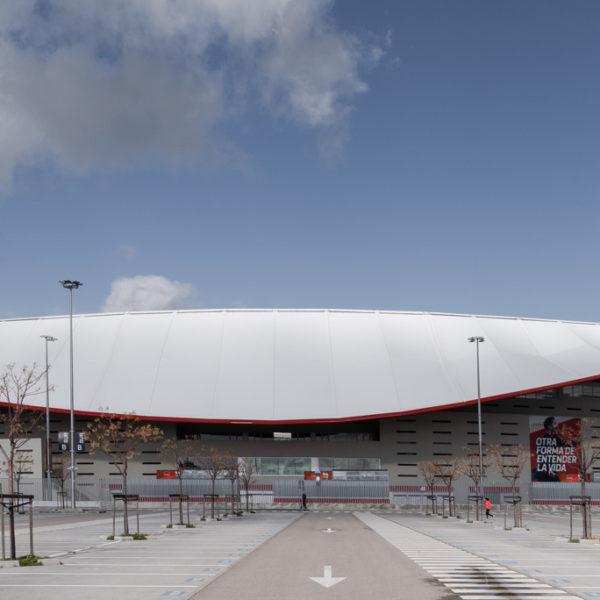 fachada sur estadio